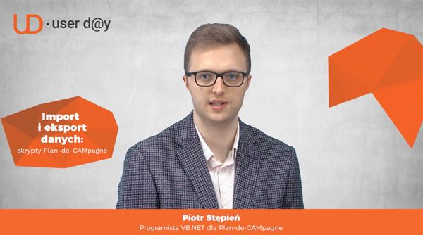 Piotr Stępień zaprasza na Stigo User Day 2021